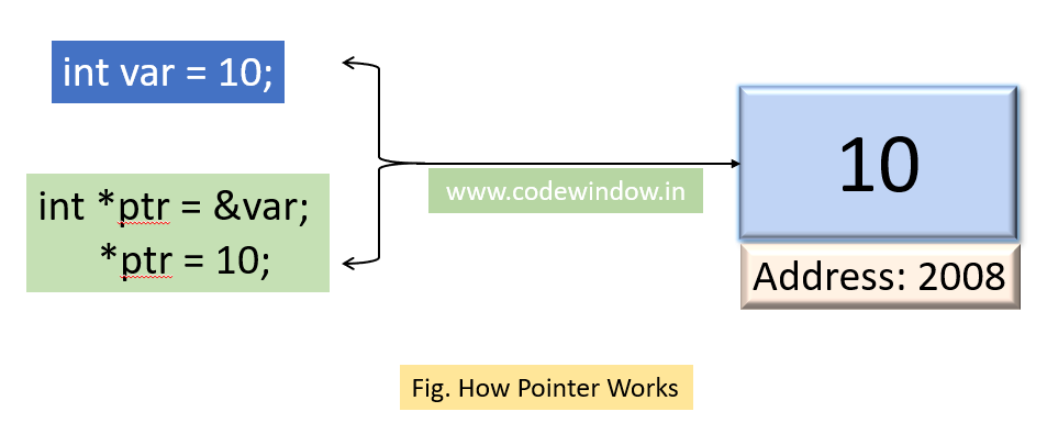 How pointer works?